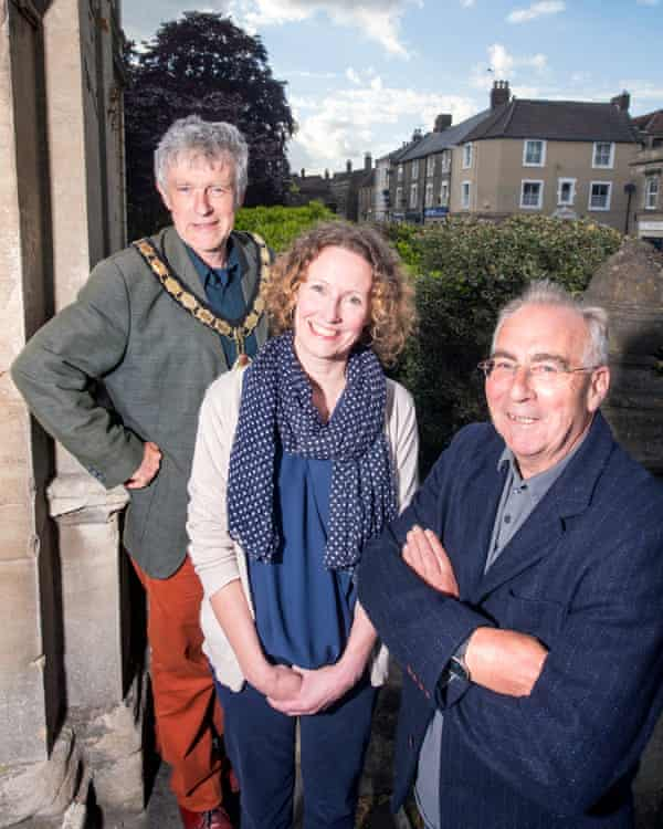 Peter Macfadyen, Kate Bielby and Mel Usher of Independents for Frome.