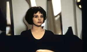 Juliette Binoche in The Unbearable Lightness of Being.