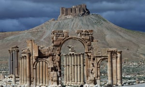 Palmyra in Syria, which is now under Isis's control.