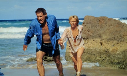 Harrison Ford and Anne Heche in Six Days, Seven Nights.
