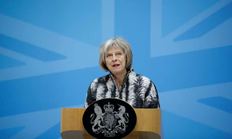 Theresa May first voiced concerns about extremist views on television in the wake of the murder of Drummer Lee Rigby in 2013.