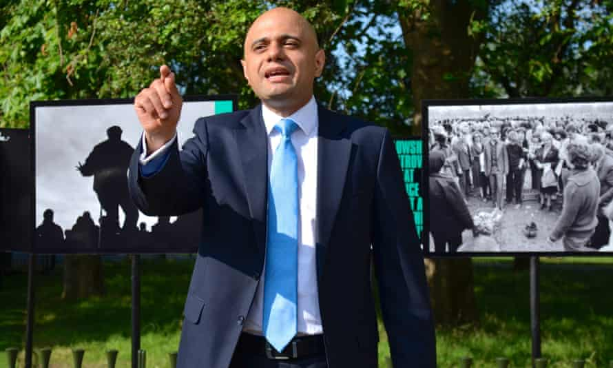 Sajid Javid: feared 'a fundamental shift in the way UK broadcasting is regulated'.