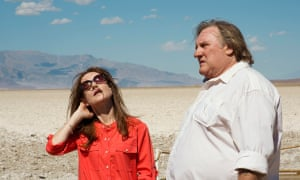 Gerard Depardieu and Isabelle Huppert in Valley of Love.