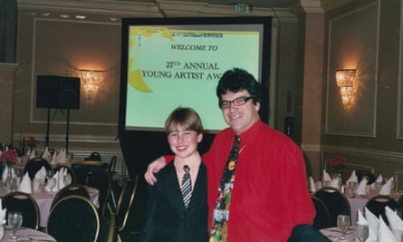 Youth talent manager Marty Weiss with Evan Henzi, who he was convicted of sexually molesting.