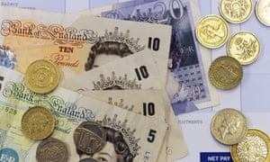 UK notes and coins