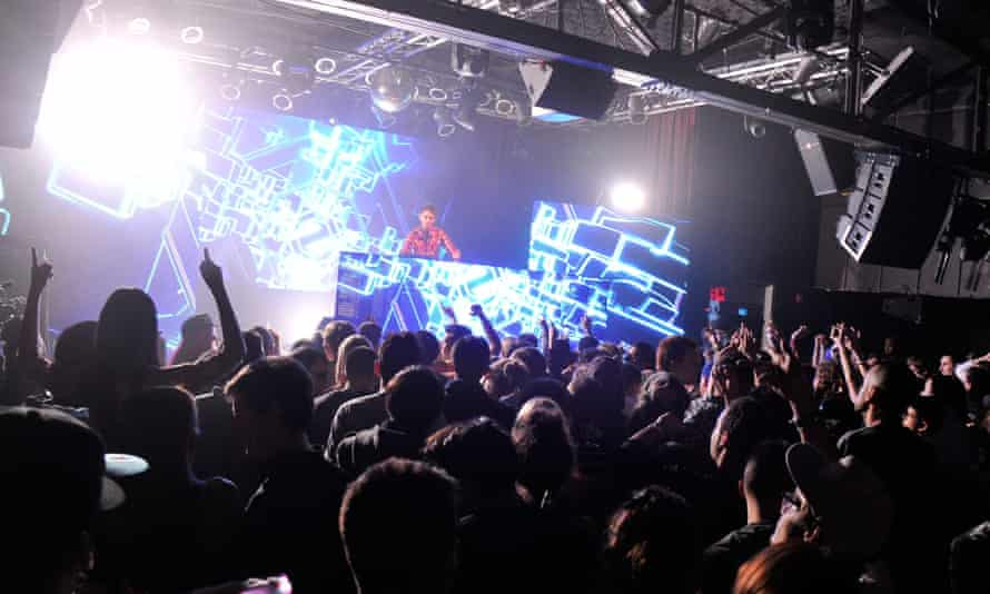 Zedd performing live in 2013, but now his fans can buy his album on Tinder