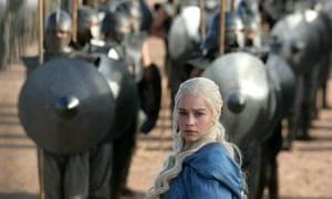 Game of thrones character Daenerys Targaryen