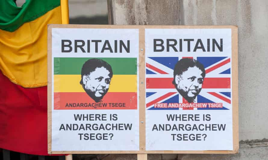 Tsige was accused by the Ethiopian government of being a terrorist. In 2009, he was tried in his absence and sentenced to death.