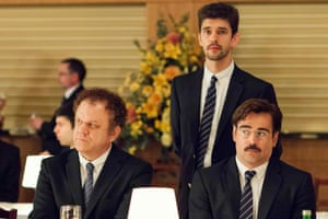 John C Reilly in Yorgos Lanthimos's The Lobster, with Ben Whishaw and Colin Farrell.