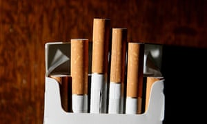 A packet of cigarettes