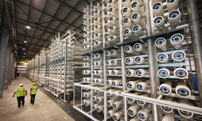 Desalination: the quest to quench the world's thirst for