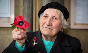 Poppy seller Olive Cooke