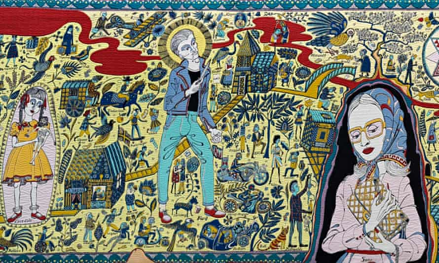 Grayson Perry, The Walthamstow Tapestry (2009)
