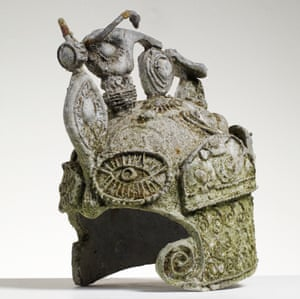 Grayson Perry, Early English Motorcycle Helmet (1981).