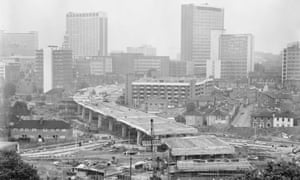 The Croydon Flyover was part of a devastating redevelopment that flattened entire streets.