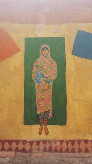 Iranian woman, Qeshm Island