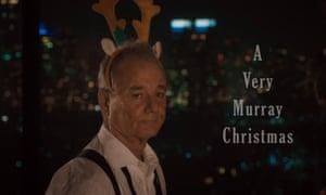 A Very Murray Christmas.Trailer Watch Bill Murray In A Very Murray Christmas On