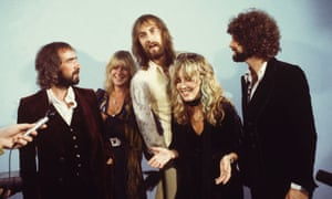 McVie (second from left) with the rest of Fleetwood Mac, 1975.