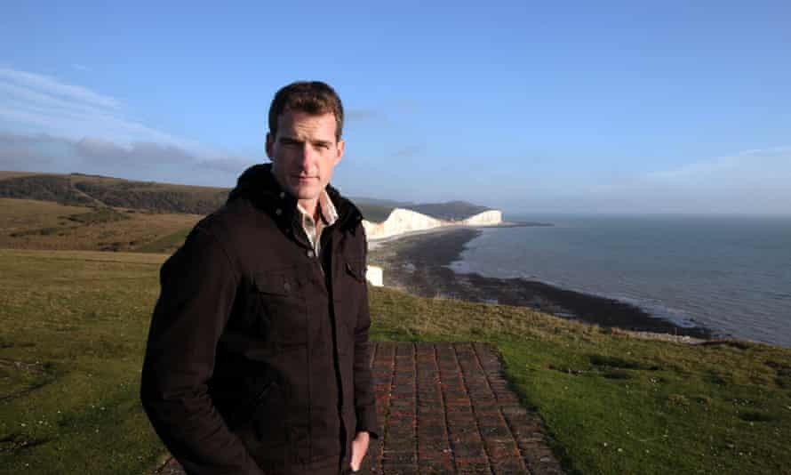 Cliffhanger … Dan Snow in Armada: 12 Days to Save England