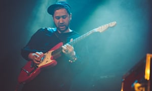 Unknown Mortal Orchestra at Islington Assembly Hall, London.
