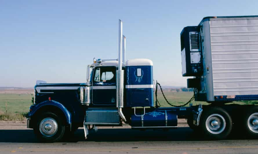 New holiday plan? Trucking across America.