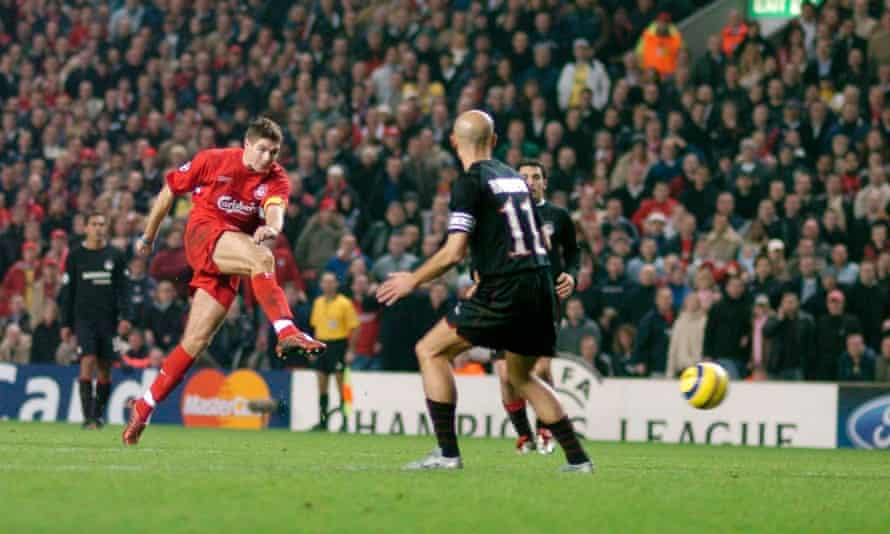 Steven Gerrard S 11 Big Moments As Told By Those Involved Steven Gerrard The Guardian