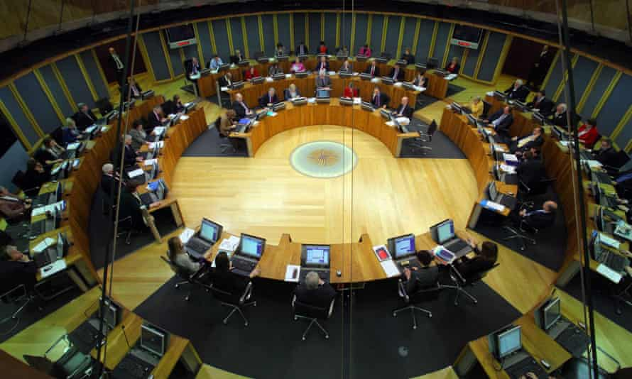 A view of the Welsh general assembly.