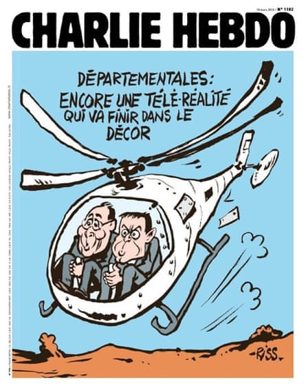 Charlie Hebdo: one of Laurent 'Riss' Sourisseau's covers