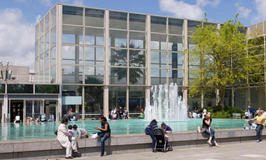 The Milton Keynes shopping centre designed by Derek Walker.