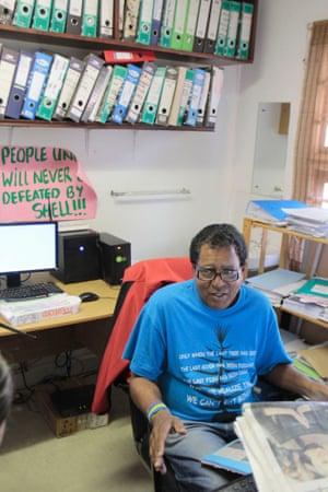 Desmond D'Sa, coordinator of the South Durban Community Environmental Alliance.