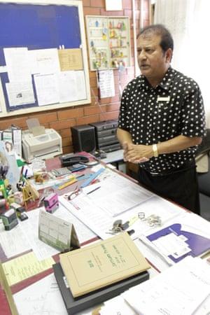Inthirin Naidoo, principal at Settlers Primary School in Merebank.