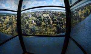 Sky pod elevator One World Observatory