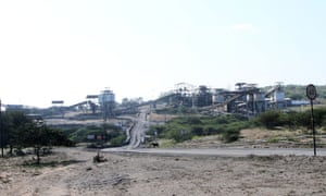 Zululand Anthracite Colliery (ZAC) near Ulundi. It is owned by the mining giant Rio Tinto