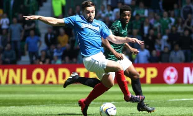 Rangers and Hibs will once again attempt to win promotion.