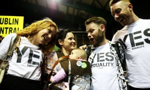 Yes voters gay marriage Dublin