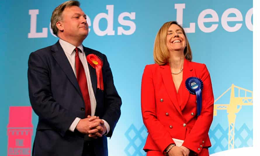 Andrea Jenkyns and Ed Morley