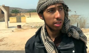 Amer Deghayes on the frontline in Syria