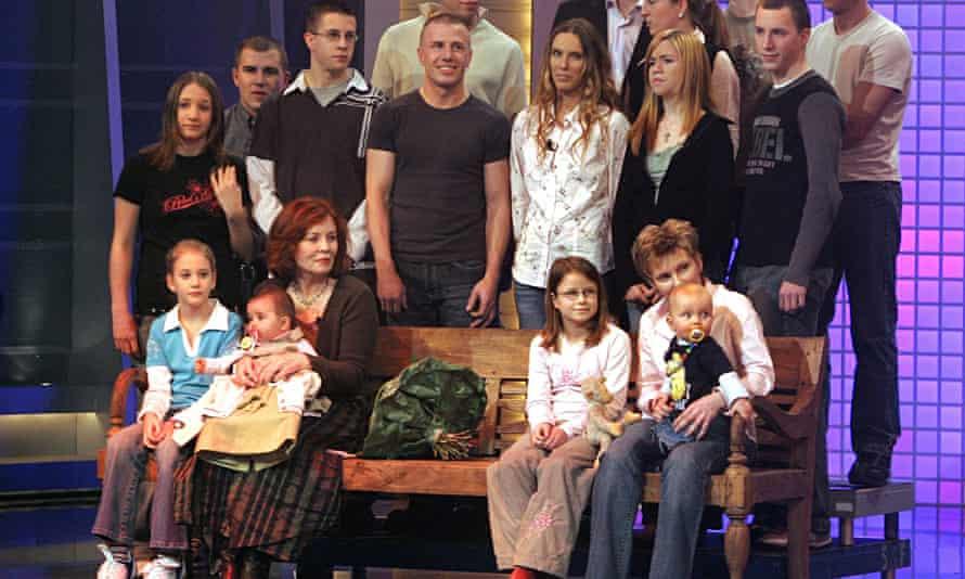 Annegret Raunigk with family memebers in 20015