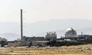 The Dimona nuclear power plant in the southern Negev desert is believed to be central to the development of Israel's undeclared nuclear arsenal.