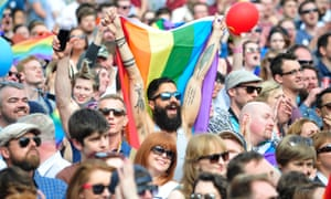 People react to results coming in from constituencies around Ireland suggesting an overwhelming majority in favour of the referendum on same-sex marriage
