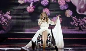 "Poland's Monika Kuszynska performs ""In the Name of Love"""