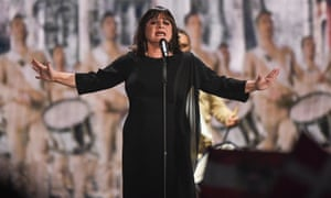 Lisa Angell of France performs 'N'oubliez Pas'