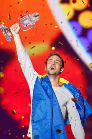 And the winner is … Mans Zelmerloew for Sweden