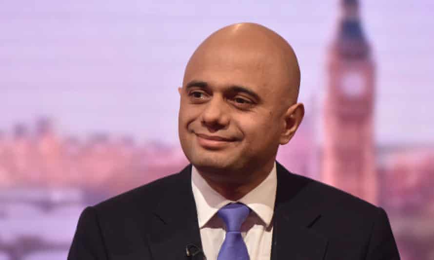 Sajid Javid, the business secretary