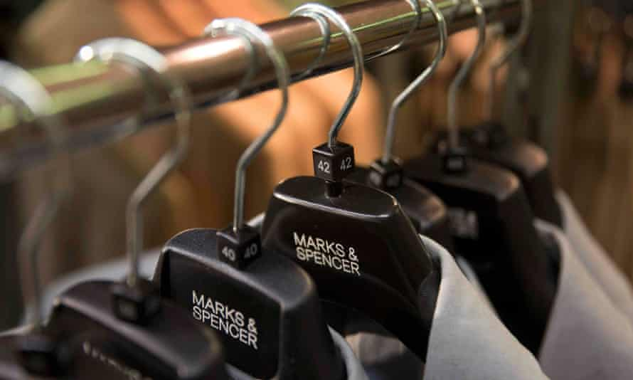 M&S' gross profit on its clothing and homewares business rose by £24m last year as margin gains compensated for a 2.5% fall in sales.