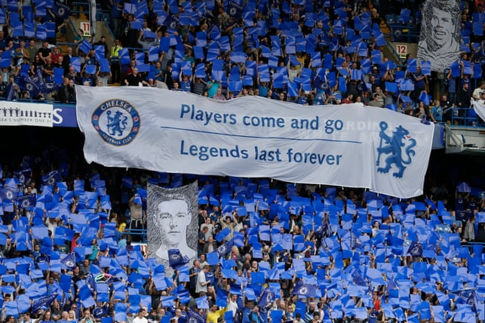 They like their legends down at Stamford Bridge