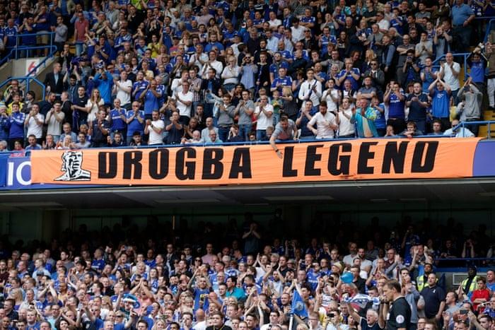 Proof of Drogba's status
