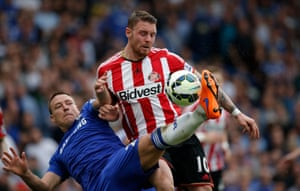 John Terry has his hands full dealing with Connor Wickham