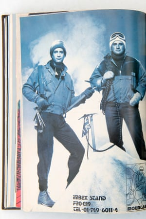The Lindsey brothers as they appeared in Men's Wear magazine in 1989.