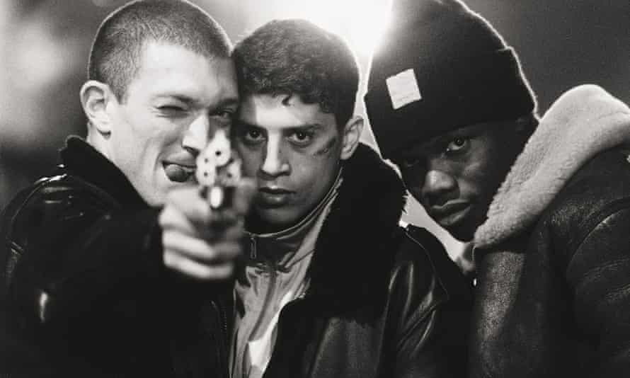 Vincent Cassel in La Haine